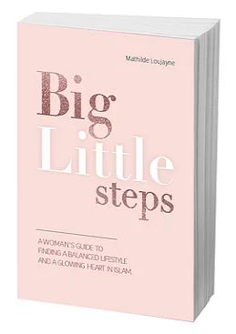 Link to an enlarged image of Big Little Steps : A woman's guide to find a balanced lifestyle