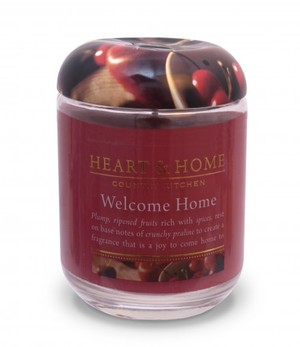 Link to an enlarged image of 300g Large Jar Candle: Welcome Home