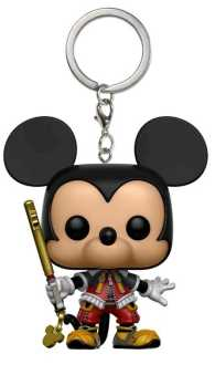 Link to an enlarged image of Kingdom Hearts - Mickey Pop! Keychain