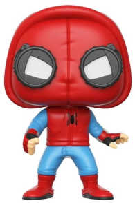 Link to an enlarged image of SpiderMan: HC - SpiderMan Homemade Suit Pop!