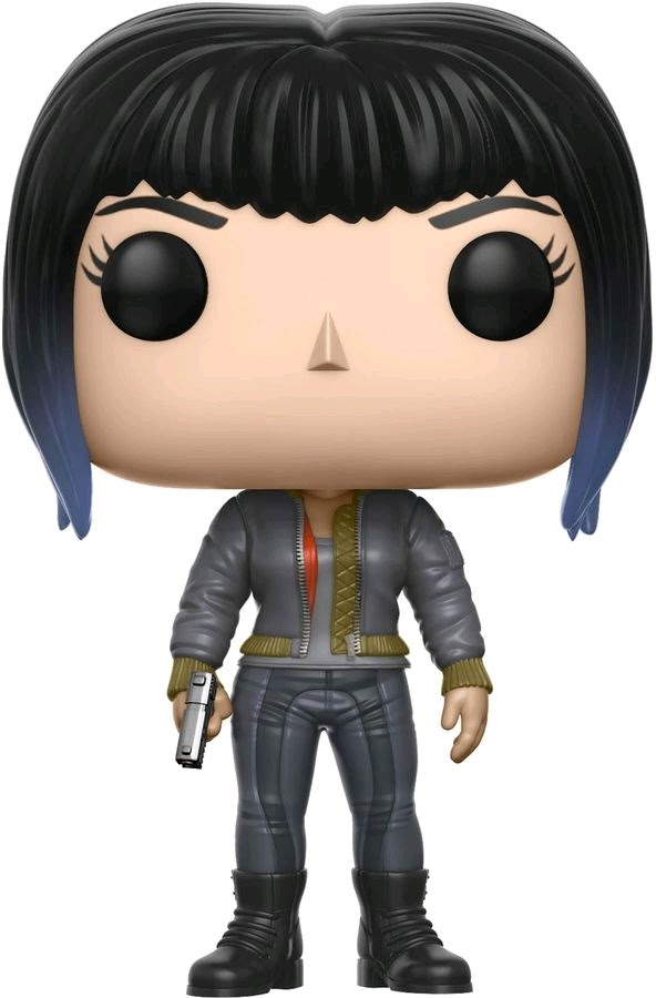 Link to an enlarged image of Ghost in the Shell - Major Jacket & Gun Pop! !E RS
