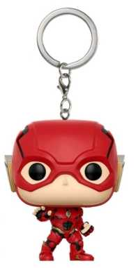 Link to an enlarged image of JL Movie - Flash Pop! Keychain