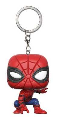 Link to an enlarged image of SpiderMan: HC - SpiderMan Pop! Keychain