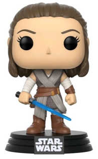 Link to an enlarged image of THE LAST JEDI - REY Pop! Vinyl Figure