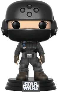 Link to an enlarged image of Star Wars: Rogue 1 - Jyn w/Helmet Pop! NY17 RS