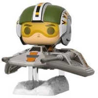Link to an enlarged image of Star Wars - Wedge Antilles with Snowspeeder US Exclusive Pop! Deluxe [RS]
