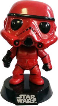 Link to an enlarged image of Star Wars - Red Stormtrooper Pop! !E RS