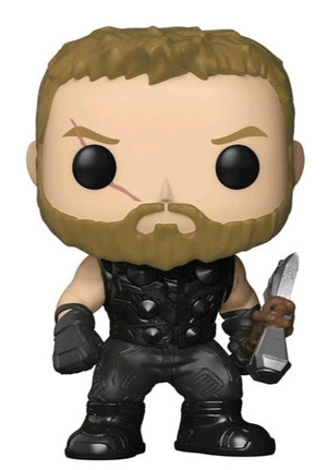Link to an enlarged image of Avengers Infinity War Thor Pop Vinyl Figure