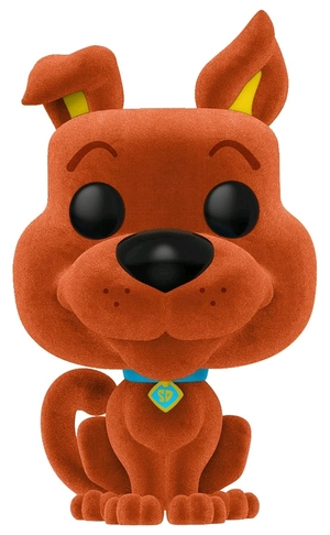 Link to an enlarged image of Scooby Doo - Scooby Doo Orange FL Pop! RS