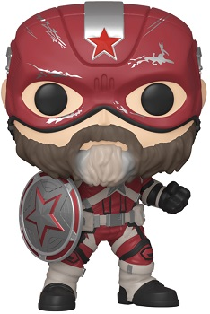 Link to an enlarged image of FUNKO POP MARVEL BLACK WIDOW RED GUARDIAN