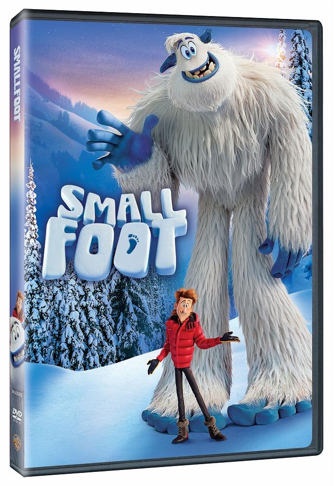 Books Kinokuniya Smallfoot 2018 Dvd Wu00070 Children Family 2010025049272