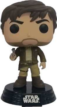 Link to an enlarged image of Star Wars: Rogue One - Cassian Andor [Pop! Vinyl Figure / FUN10451]