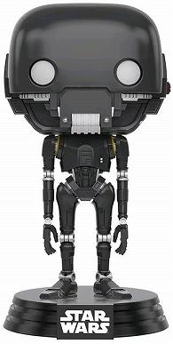 Link to an enlarged image of Star Wars: Rogue 1 - K-2SO Pop!
