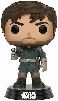 Link to an enlarged image of Star Wars: Rogue One - Captain Cassian Andor [Pop! Vinyl Figure / FUN10452]