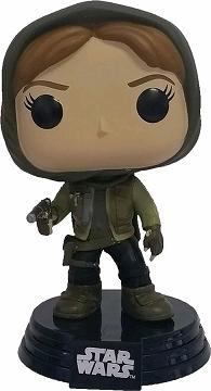 Link to an enlarged image of Star Wars: Rogue One - Jyn Erso Hooded [Pop! Vinyl Figure / FUN10450]