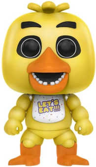 Link to an enlarged image of Five Nights at Freddy's - Chica [Pop! Vinyl Figure / FUN11031]