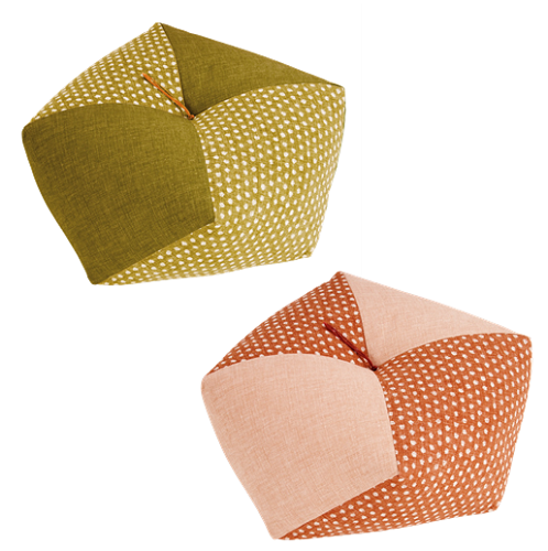 Link to an enlarged image of Ojami Cushion  Arare(2 color set)