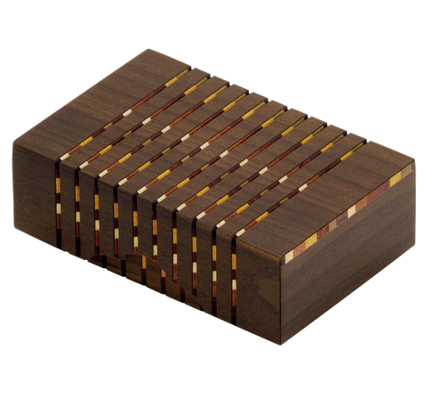 Link to an enlarged image of Yosegi business card box