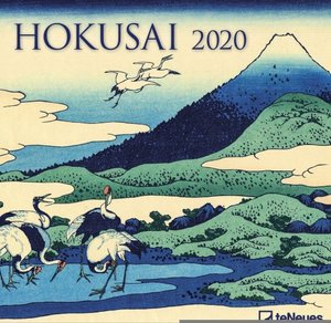 Link to an enlarged image of 2020 Calandar Hokusai 30X30