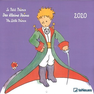 Link to an enlarged image of 2020 Calandar The Little Prince 30X.30