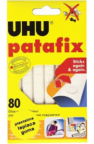 Link to an enlarged image of UHPATAFIX WHITE REMOVABLE PADS