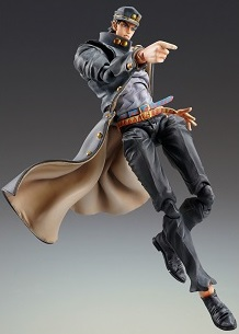Link to an enlarged 2nd image of JOJOS BIZARRE ADV PT 3 CHOZO KADO JOTARO KUJO 1.5 AF