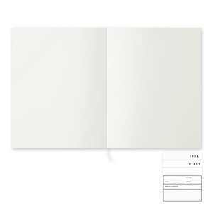 Link to an enlarged 3rd image of MD Notebook Cotton <F2>   MDノート コットン<F2>   15256006