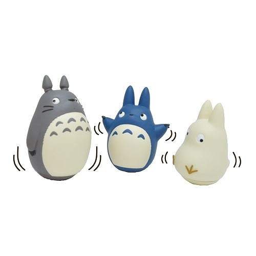 Link to an enlarged 2nd image of Roly-poly toy: My Neighbor Totoro (となりのトトロ) - みんなでゆらゆら ~おきあがりこぼし~ | YR-01