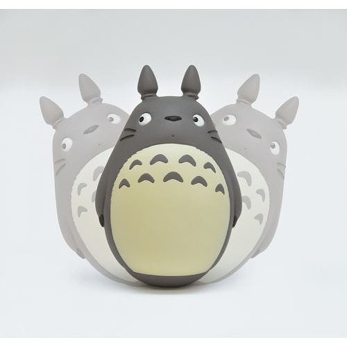 Link to an enlarged 3rd image of Roly-poly toy: My Neighbor Totoro (となりのトトロ) - みんなでゆらゆら ~おきあがりこぼし~ | YR-01