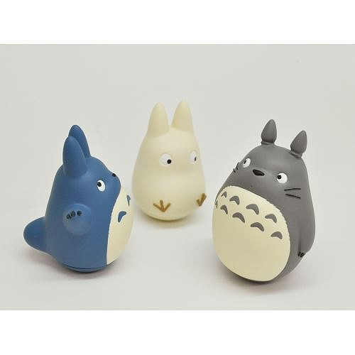 Link to an enlarged 6th image of Roly-poly toy: My Neighbor Totoro (となりのトトロ) - みんなでゆらゆら ~おきあがりこぼし~ | YR-01