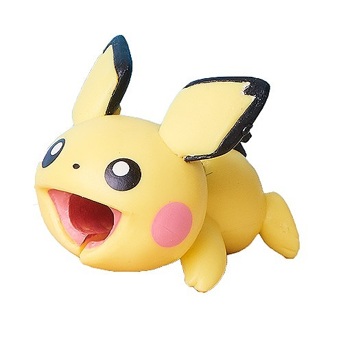 Link to an enlarged image of Cable Bite Pokemon Puchu / ピチュー