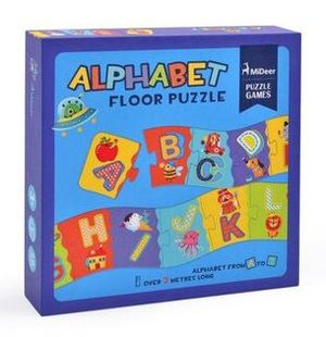 Link to an enlarged image of Mideer Alphabet Floor Puzzle