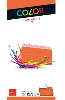 Link to an enlarged image of 74617.82 Elco Coloured Envelope  C5/6  229 x114mm - Pack of 25