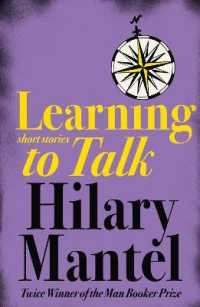 Link to an enlarged image of Learning to Talk : Short Stories -- Paperback / softback