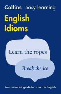 Link to an enlarged image of Easy Learning English Idioms (Collins Easy Learning Dictionaries)