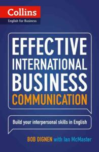 Link to an enlarged image of Effective International Business Communication : B2-c1 (Collins Business Skills and Communication) -- Paperback / softback