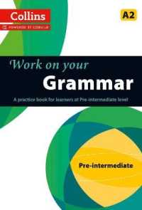 Link to an enlarged image of Grammar : A2 (Collins Work on Your...) -- Paperback / softback