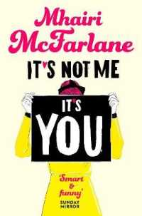 Link to an enlarged image of It's Not Me, It's You -- Paperback / softback