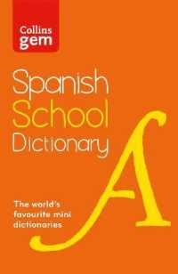 Link to an enlarged image of Spanish School Gem Dictionary : Trusted Support for Learning, in a Mini-format (Collins School Dictionaries) -- Paperback / softback (3 Revised)