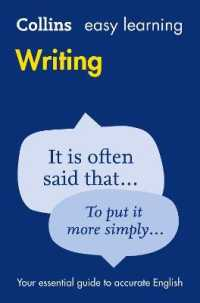 Easy Learning Writing (Collins Easy Lear...