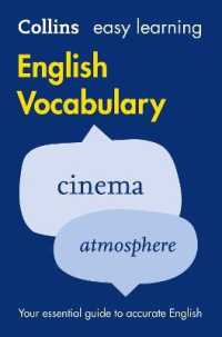 Link to an enlarged image of Easy Learning English Vocabulary : Your Essential Guide to Accurate English (Collins Easy Learning English) -- Paperback / softback (2 Revised)