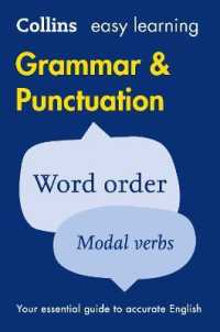 Link to an enlarged image of Easy Learning Grammar and Punctuation : Your Essential Guide to Accurate English (Collins Easy Learning English) -- Paperback / softback (2 Revised)