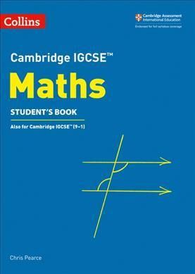 Link to an enlarged image of Cambridge Igcse (Tm) Maths Student's Book (Collins Cambridge Igcse (Tm)) -- Paperback / softback (3 Revised)