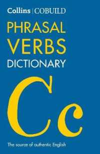 Link to an enlarged image of Cobuild Phrasal Verbs Dictionary (Collins Cobuild Dictionaries for Learners) -- Paperback / softback (4 Revised)