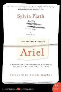 Link to an enlarged image of Ariel : A Facsimile of Plath's Manuscript, Reinstating Her Original Selection and Arrangement, the Restored Edition (Reprint)