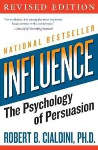 Link to an enlarged image of Influence : The Psychology of Persuasion (Harperbusiness Essentials)
