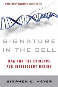 Link to an enlarged image of Signature in the Cell : DNA and the Evidence for Intelligent Design (Reprint)