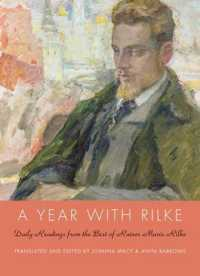 Link to an enlarged image of A Year with Rilke : Daily Readings from the Best of Rainer Maria Rilke