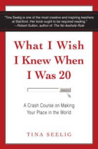 Link to an enlarged image of What I Wish I Knew When I Was 20 : A Crash Course on Making Your Place in the World -- Paperback / softback (Internatio)