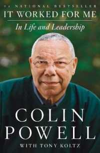 Link to an enlarged image of It Worked for Me : In Life and Leadership (Reprint)